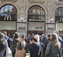 McDonald's sfrattato:l'ultimo pasto in Galleria