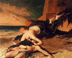 William Etty, Ero e Leandro
