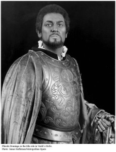 Placido Domingo nei panni di Otello