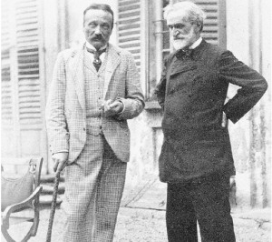 Boito e Verdi (immagine da it.wikipedia.org)